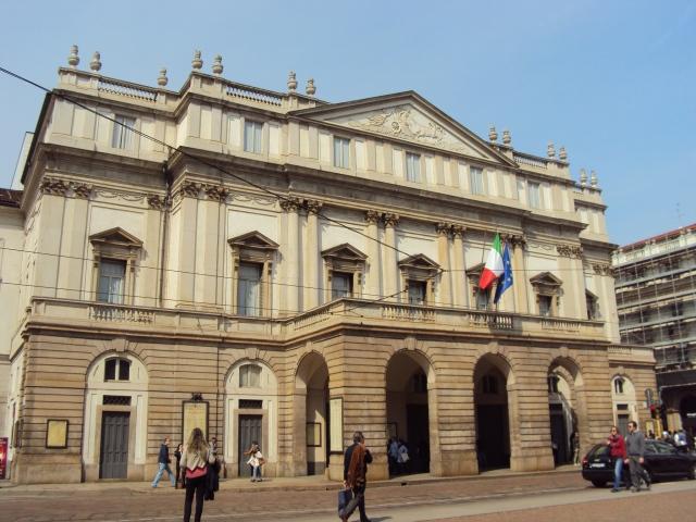 El famoso Teatro alla Scala