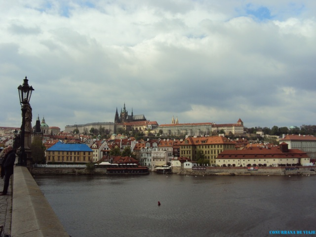 La zona del Castillo vista desde el Puente