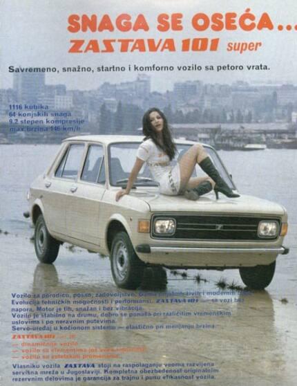 Publicidad de Zastava