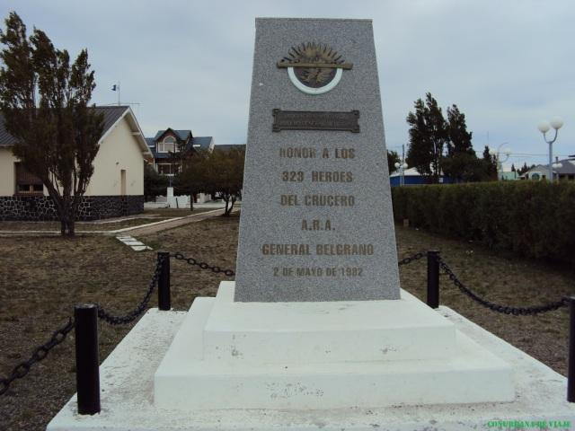 Río Gallegos - Monumento a los asesinados en el ARA Gral. Belgrano