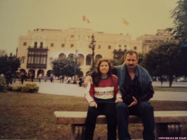 En Lima con papá
