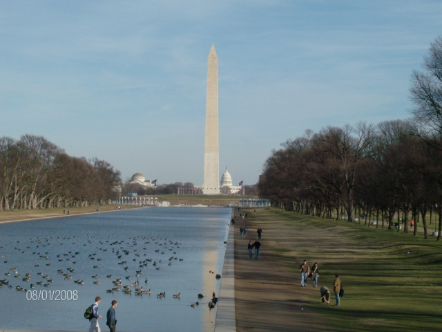 National Mall (¿no es un shopping!)