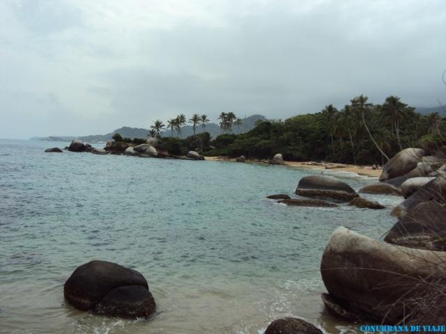 La Piscina, una de las playas del Parque Nacional Natural Tayrona