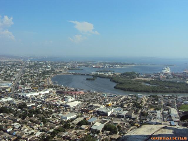 Vista de Cartagena desde el Cerro de la Popa