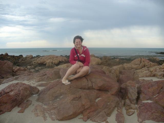 El sabio viento patagónico que siempre supo donde llevarme... (Las Grutas, Río Negro, Argentina)