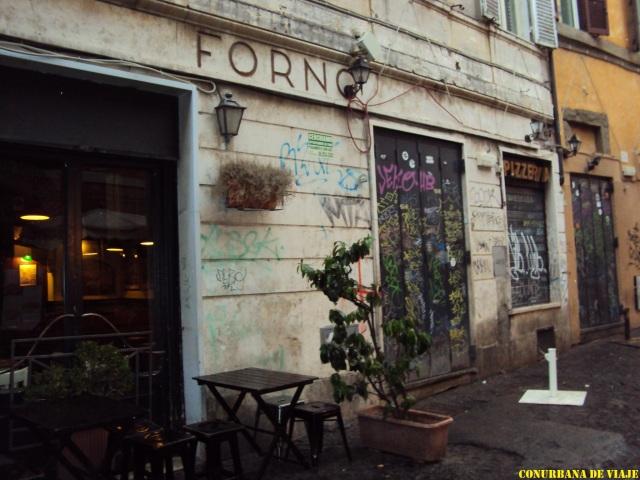 Restaurant en Trastevere