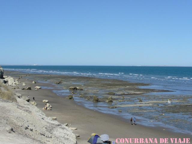 Playa en Las Grutas