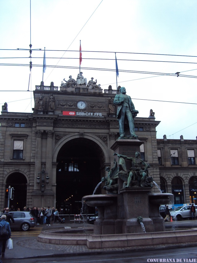 Estación Central de Zürich