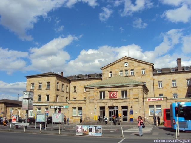 Estación Central de Bamberg, Baviera (Alemania)