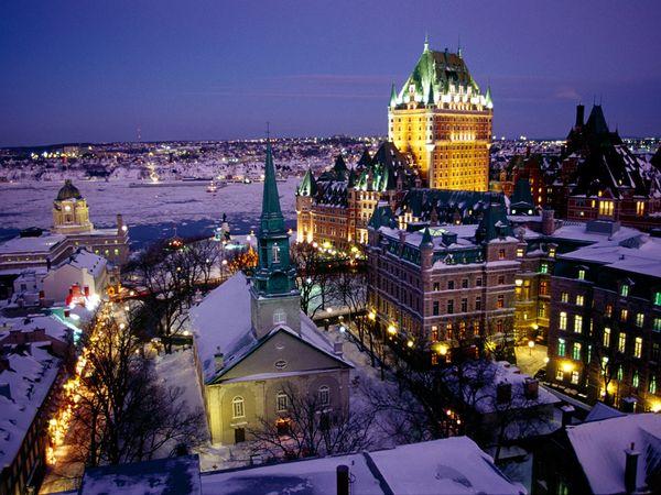 Vieux Quebec, la única ciudad amurallada de la América