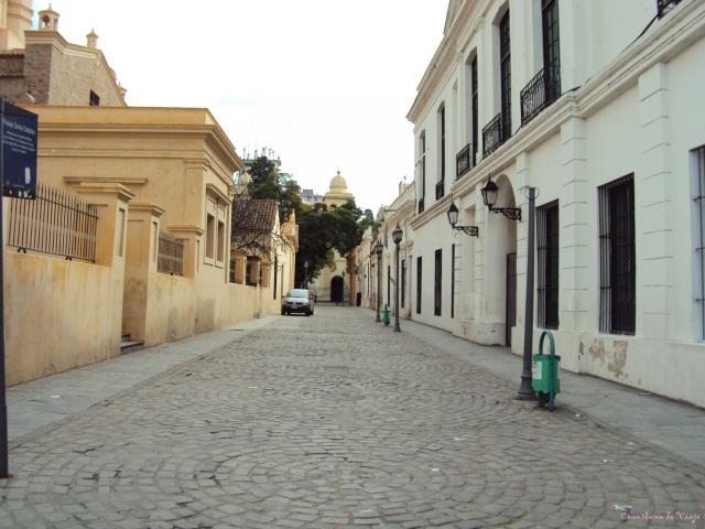 Pasaje Santa Catalina, dentro del área jesuítica de Córdoba Capital