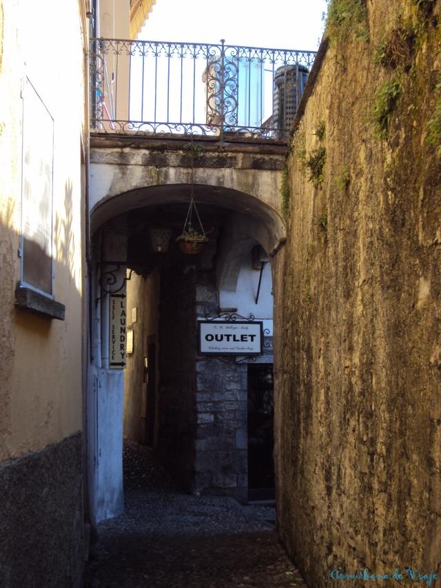 Por las calles de Bellagio