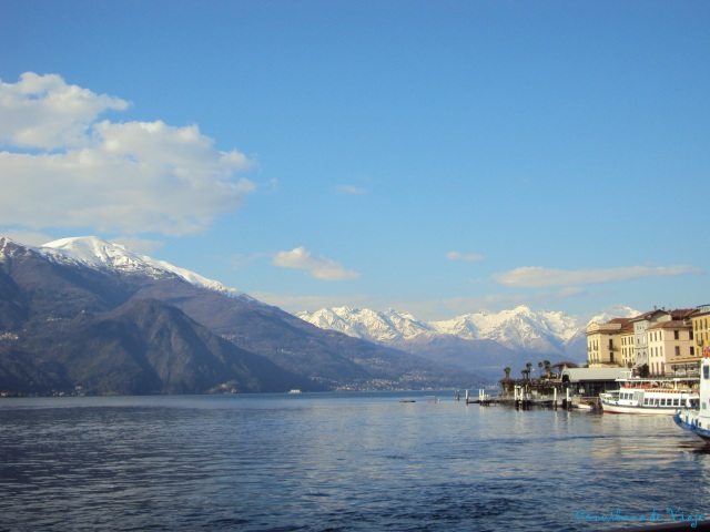 Con esta vista me despedí de Bellagio